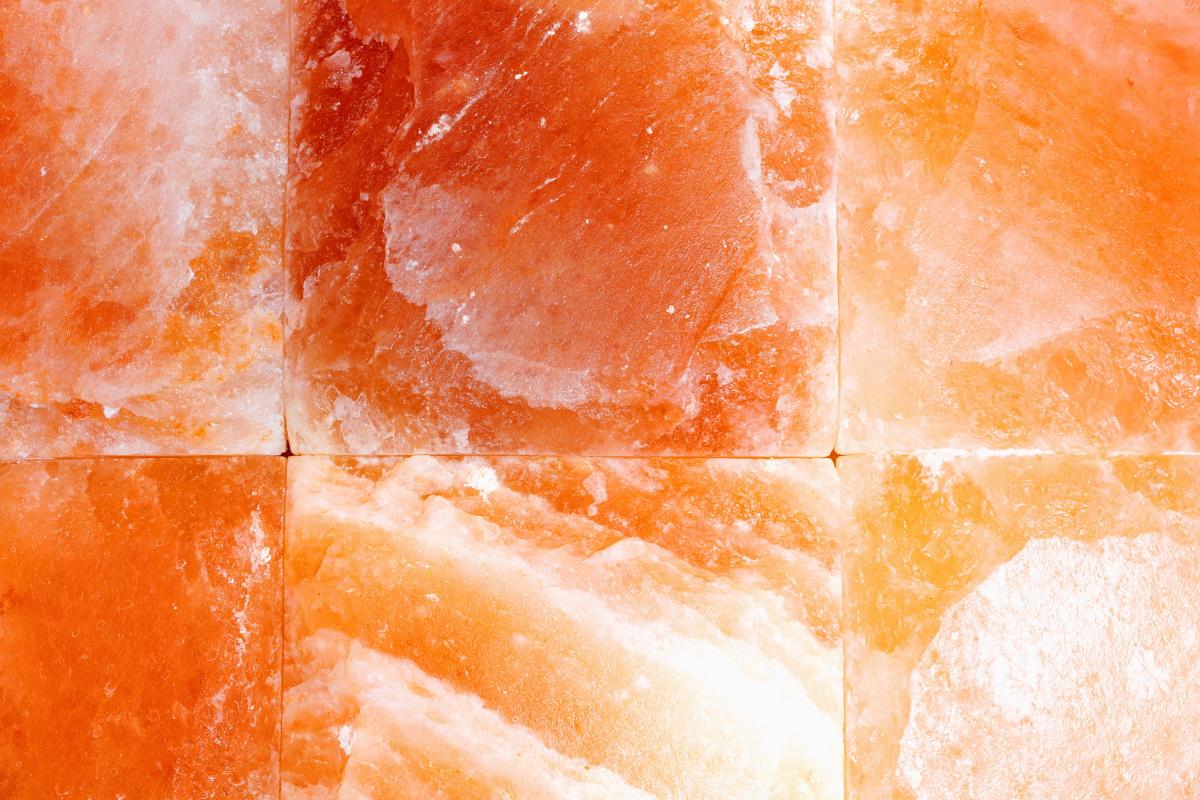 Himalayan PInk Salt Wall for Infrared Sauna