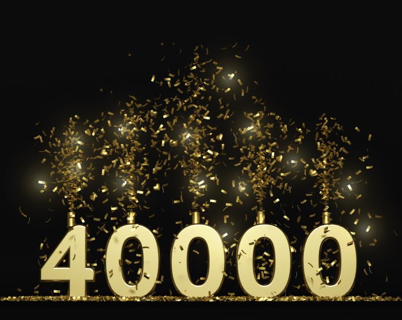 40,000 spray tans