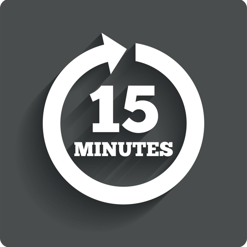 15 Minute appointment