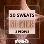 Colour Me Bronze – Infrared Sauna Pack – 10 sweats/2 people/30 mins