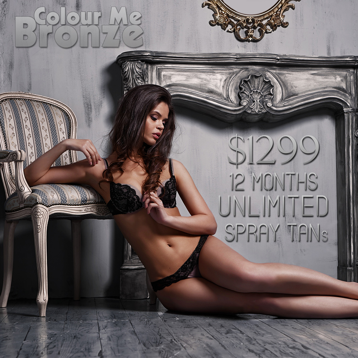 Colour Me Bronze Yearly Unlimited Tanning Pack