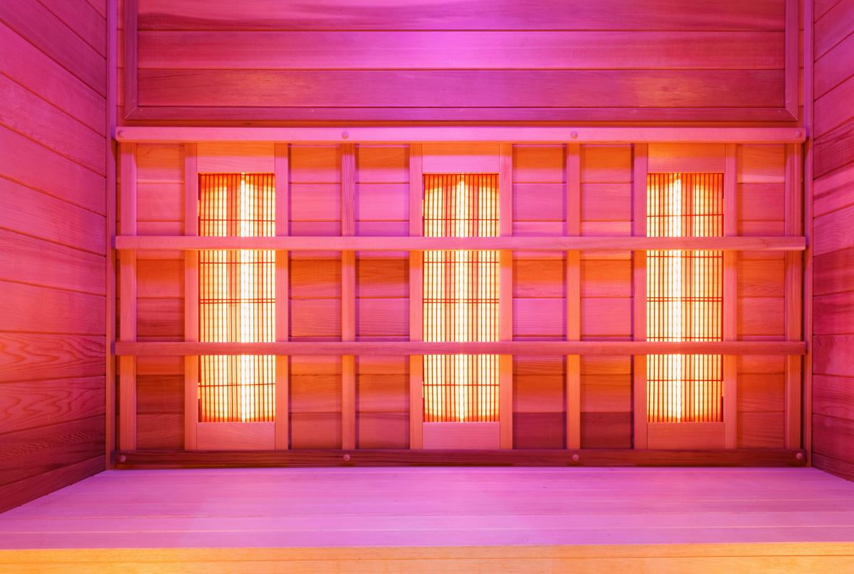 Colour Me Bronze Infrared Sauna