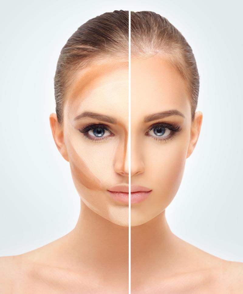 Colour Me Bronze Spray Tan Face Contour